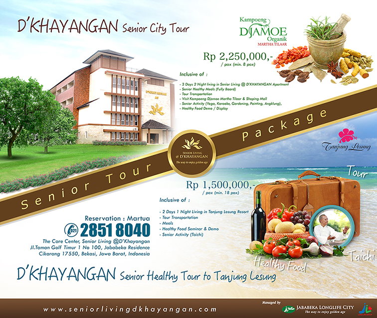 D'Khayangan Senior City Tour